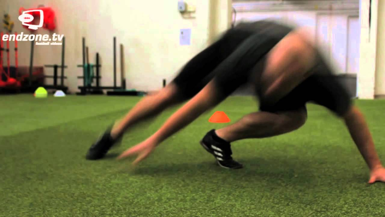 american football training basic combine drills youtube