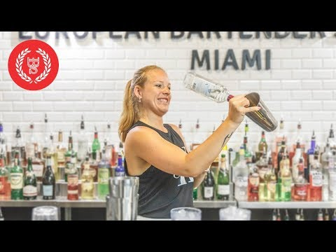 EBS 2-Day Working Flair Course - European Bartender School