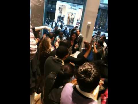 Opening of H&M SoHo 2