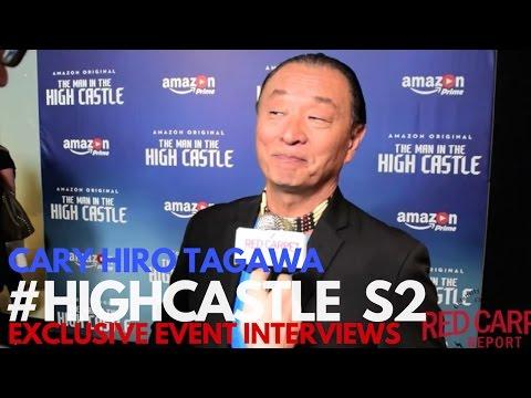 CaryHiroyuki Tagawa ed at The Man in the High Castle Season 2 Premiere HighCastle