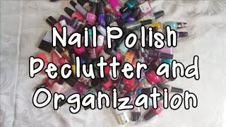 💅Nail Polish Declutter and Organization | My Randomly Organized Life