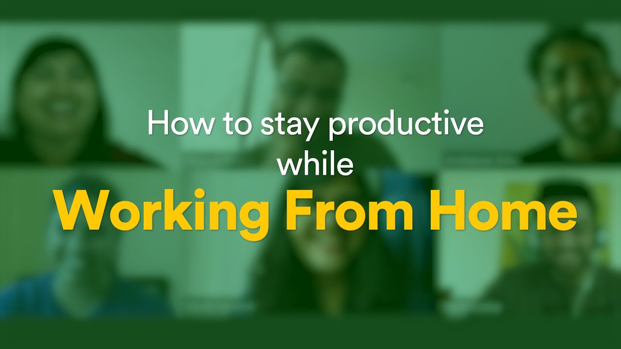 How to keep yourself productive while working from home | Flock