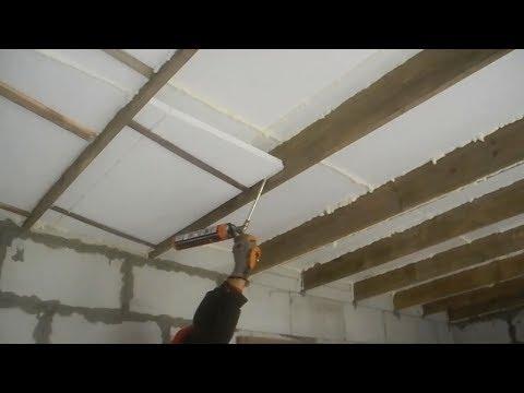 Как надежно утеплить крышу и потолок своего дома