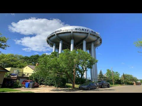 North Battleford / Battleford, Saskatchewan - Driving Tour