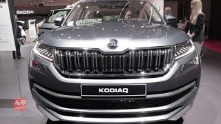 2019 Skoda Kodiaq 4x4 - Exterior And Interior Walkaround - 2018 Paris Motor Show