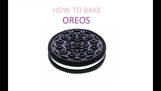 How to bake oreo using a microwave