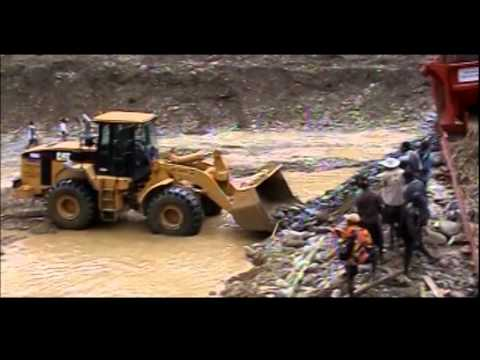 Tamo Gold Mining Project in PNG