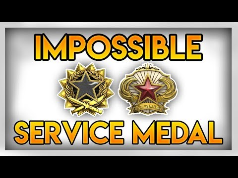CSGO: The Impossible Service Medal??