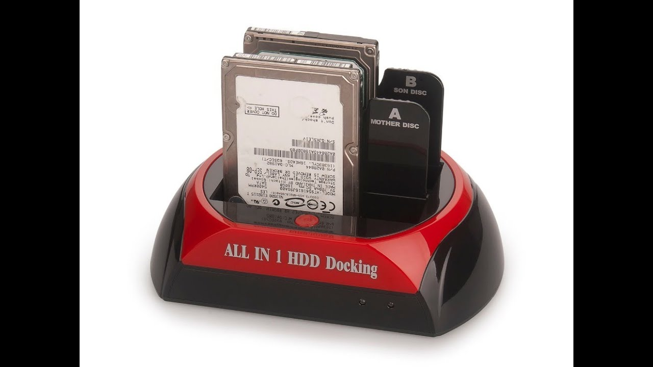 USB HDD Hard Drive Multi-Function Docking Station Reader - UNBOXING - YouTube