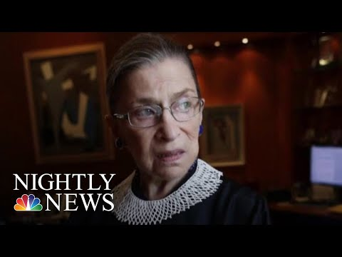 Ruth Bader Ginsburg Has Malignant Growths Removed From Lungs | NBC Nightly News
