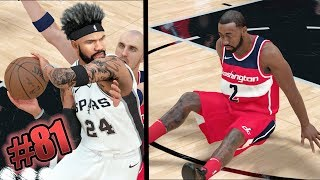 JOHN WALL BRUTAL ANKLE BREAKERS! SOMEONE'S GETTING CUT FROM THE TEAM! NBA 2k18 MyCAREER Ep. 81