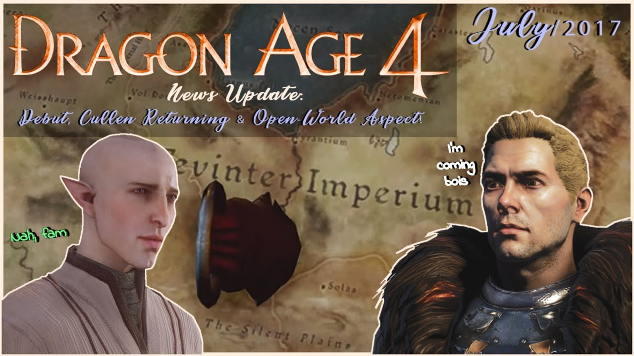 Dating cullen dragon age 15