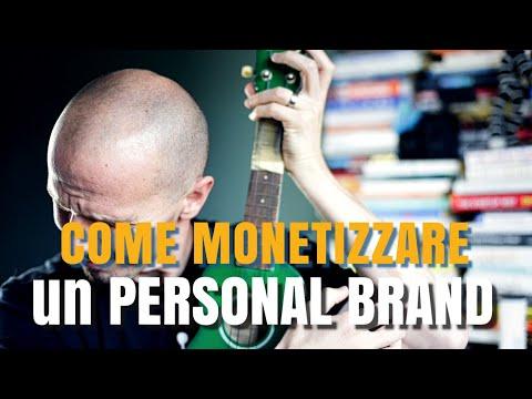 9 modi per Monetizzare un Personal Brand