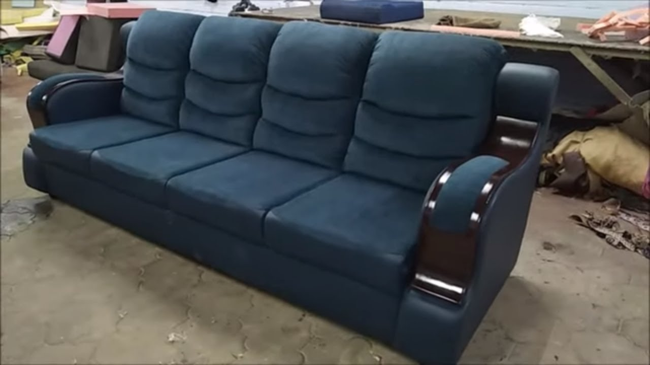 New Model 4 Seater Sofa/Couch Finishing Overview | Sofa set Designs |  Leather Sofa Designs