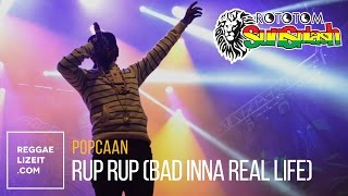 Popcaan - Rup Rup (Bad Inna Real Life) @ Rototom Sunsplash 2015