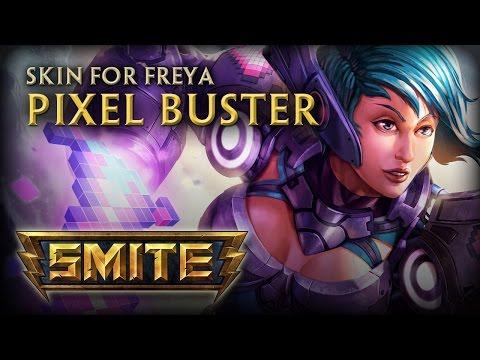 New Freya Skin: Pixel Buster