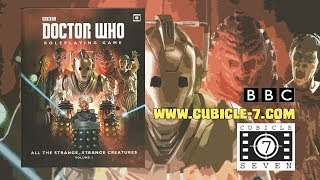 Game Geeks # 291 Dr. Who RPG: All the Strange, Strange Creatures Vol.1