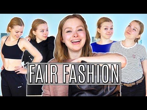 31c9c3be95e93b Fair produzierte Kleidung - Anfänger Tipps   Fair Fashion Haul - YouTube