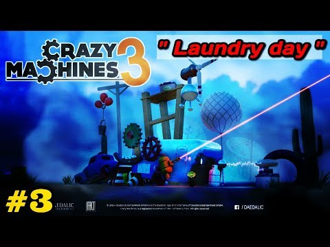 crazy machines 3 laundry day