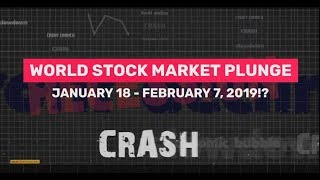 BIBLICAL STOCK PLUNGE 2019 | JANUARY 18 - FEBRUARY 7!? (Bo Polny)