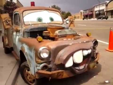 Tow Mater And Dusty