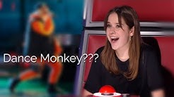 """BEST """"DANCE MONKEY"""" covers in The Voice   America's Got Talent   TONES AND I"""