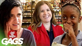 Best of Grocery Store Pranks Vol. 2    Just For Laughs Compilation