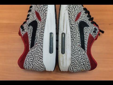 Sneaker Review! #48 Nike Air Max 1 PRM Miniswoosh Safari
