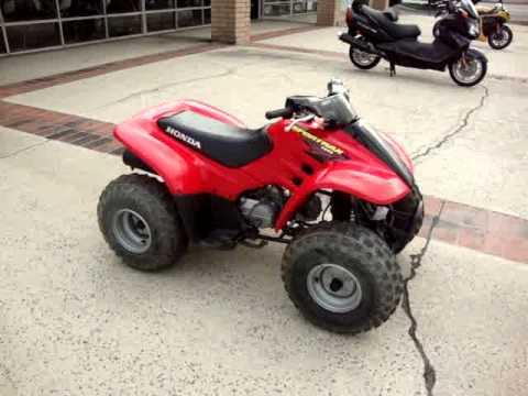 honda trx trx  cc   wheeler quad atv youtube