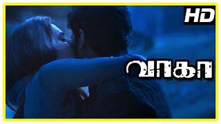 Wagah Tamil movie scenes | Ranya takes Vikram Prabhu home | Karunas | D Imman