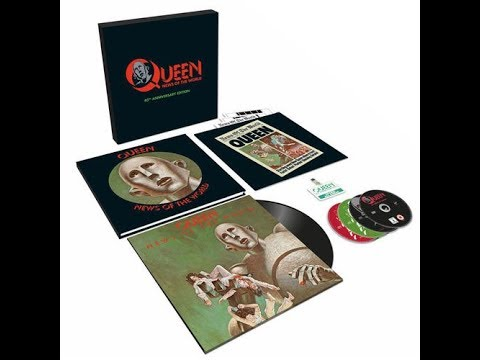 Unboxing: News of the World 40th Anniversary Box Set by Queen