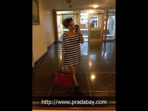 Prada Saffiano Cuir Shoulder Bag BN2829 2E70 F068Z - YouTube 4b2905501abc1