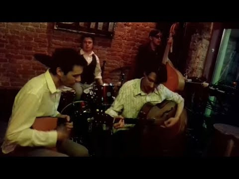 ДВЕ ГИТАРЫ Квартет РУССКИЙ БЭНД /ДЖАЗ В СТИЛЕ 40-х Jazz Music