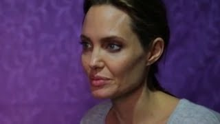 Angelina Jolie Meets Syria's Lost Children