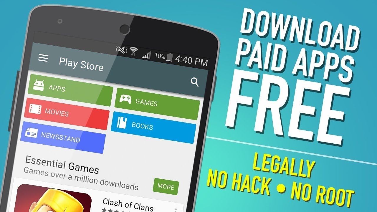 Play Store Hack Premium Mod Android Apps Download For Free Youtube