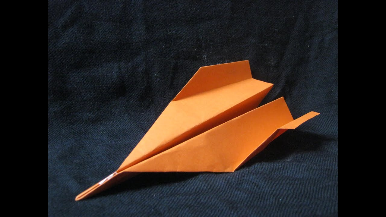how to make a paper airplane that flies far youtube
