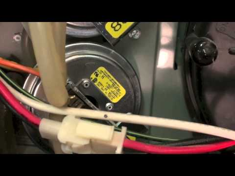 Diagnosing pressure switch problems on gas furnaces