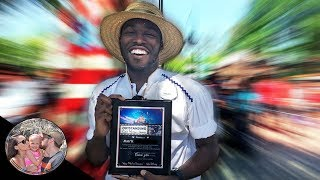 We gave an award to an AMAZING Disneyland Cast Member! ( He DESERVES more!) | Disneyland vlog #16
