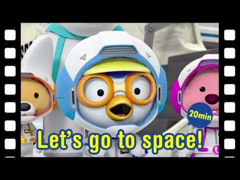 Pororo Animated Short | #33 Let's go to space! (20min) | Space adventure | Kids movie