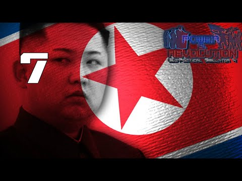 War With South Korea Power and Revolution (Geopolitical Simulator 4)North Korea Part 7 2018 Add-on
