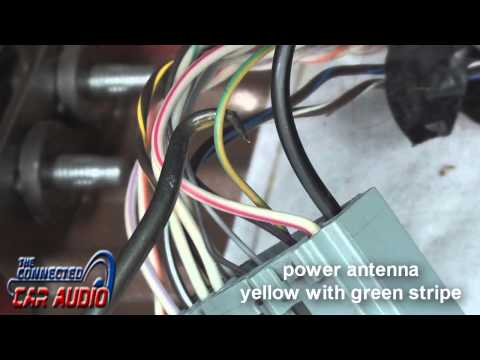 factory stereo wiring diagram ford mustang 2010-2014 - YouTubeYouTube