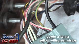 factory stereo wiring diagram ford mustang 2010-2014 - YouTube | Ford Shaker 500 Factory Radio Wiring |  | YouTube