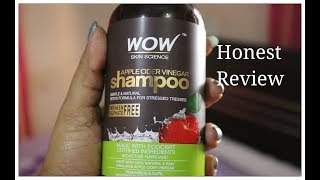 WOW Apple Cider Vinegar Shampoo Honest Review . INDIANGIRLCHANNEL JIA