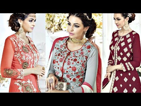 Latest Indian Anarkali Suits Collections 2017 - 2018