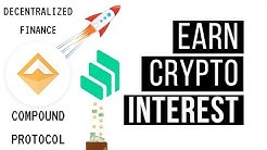 How To Make Money With Cryptocurrency | No Experience | Compound Finance - DEFI