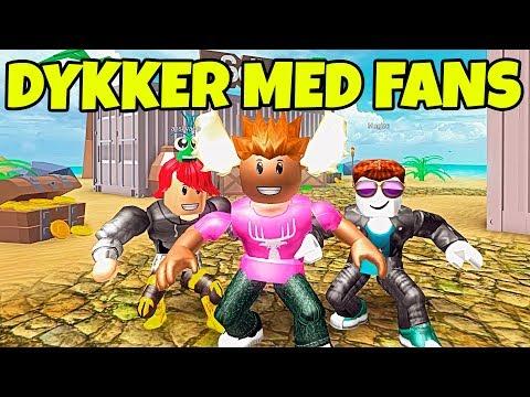 DYKKER MED FANS! - Dansk Roblox: Scuba Diving Simulator #1