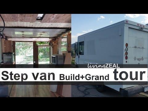 Van Tour of Step Van Camper Conversion