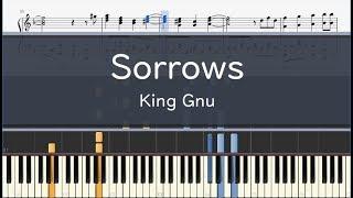 Cover images King Gnu「Sorrows」- フル〈ピアノ楽譜〉