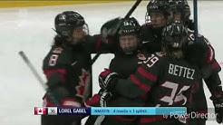 Jääkiekon Naisten MM 2019 Välierä : Suomi - Kanada (FIN-CAN) 4-2