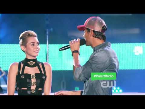 Enrique iglesias pitbull and Miley Cyrus